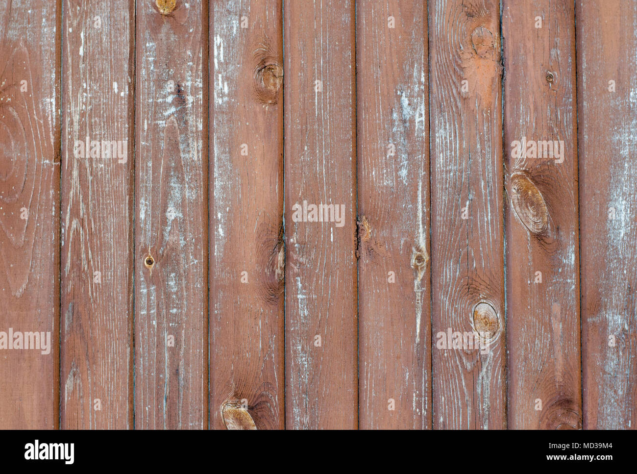 Vintage Rustic Weathered Barn Wood Background With Knots And Nail Holes