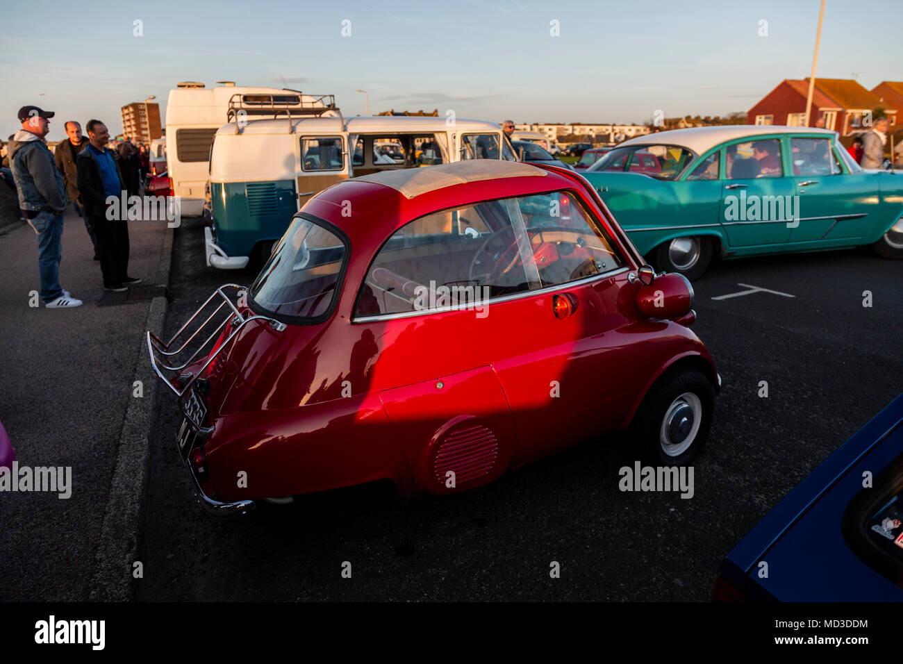 Minnis Bay Birchington Kent Uk Th Apr Classic Car And - Bay city car show 2018