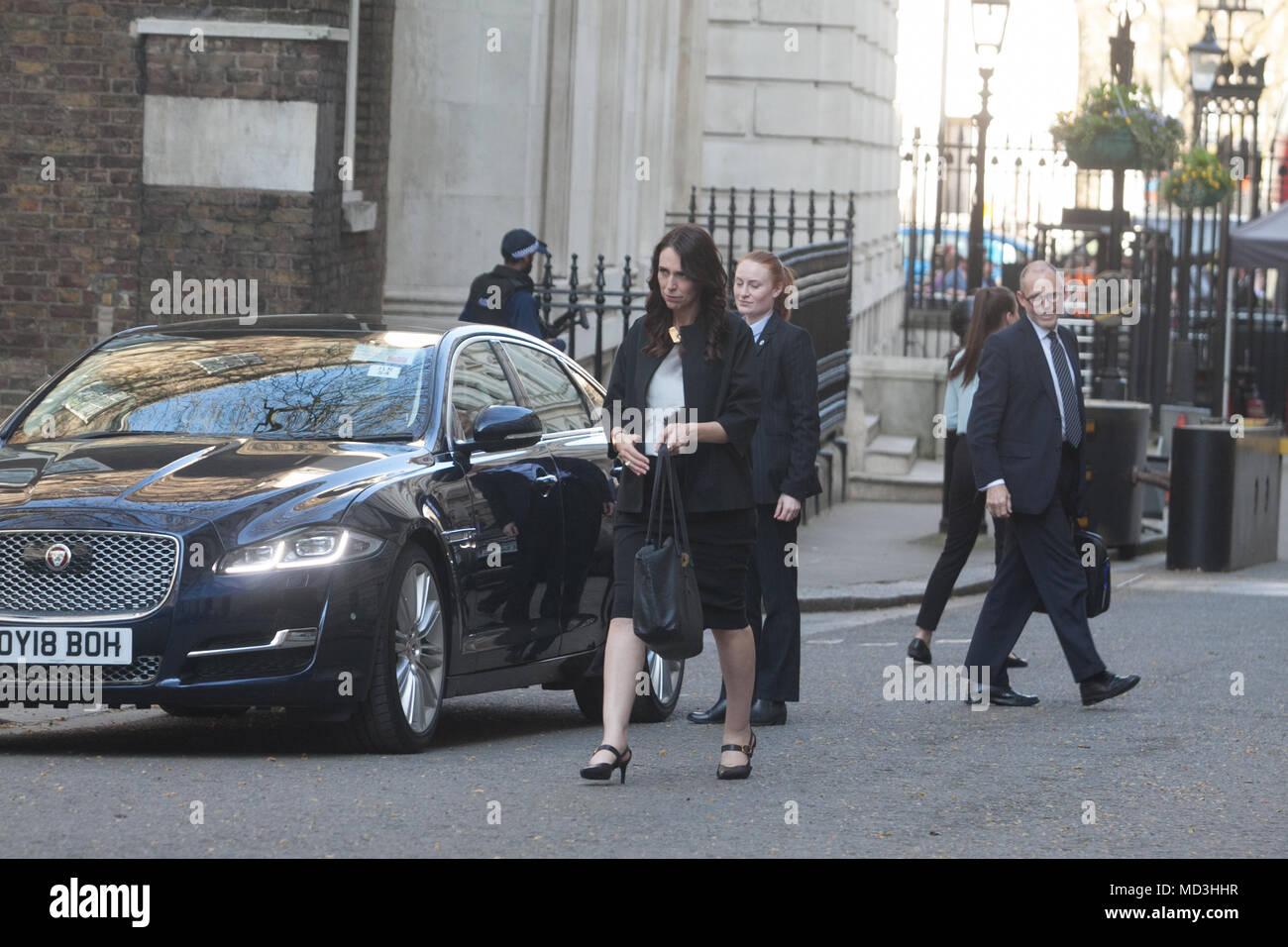London UK  18th April 2018  The Prime Minister of New