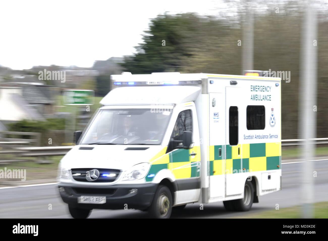 Melrose, Borders General Hospital, UK  18 Apr 2018  [Headline