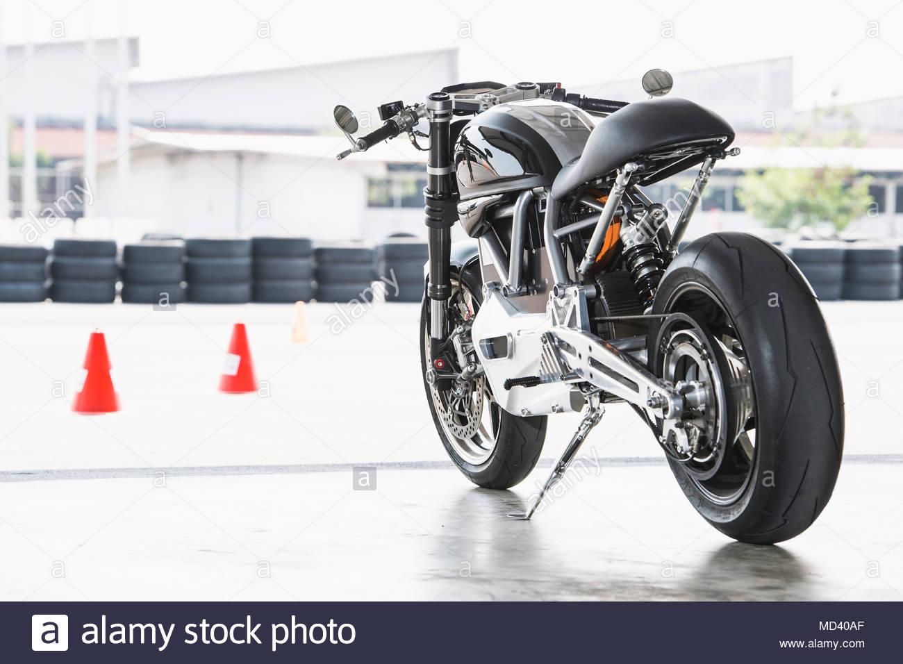 Motorbike Stand Stock Photos & Motorbike Stand Stock Images - Alamy