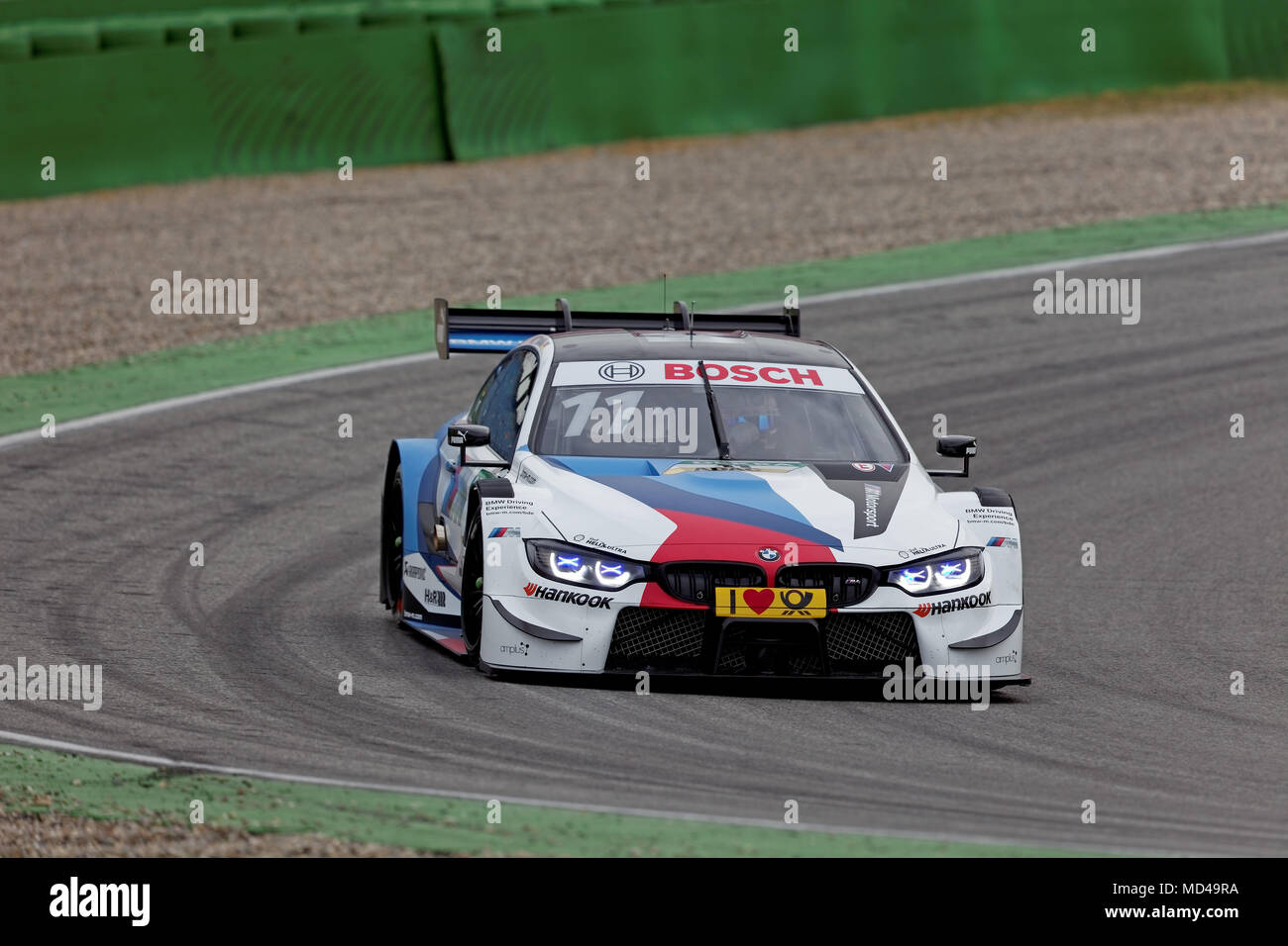 marco wittmann ger bmw m4 dtm 2018 tests hockenheim. Black Bedroom Furniture Sets. Home Design Ideas