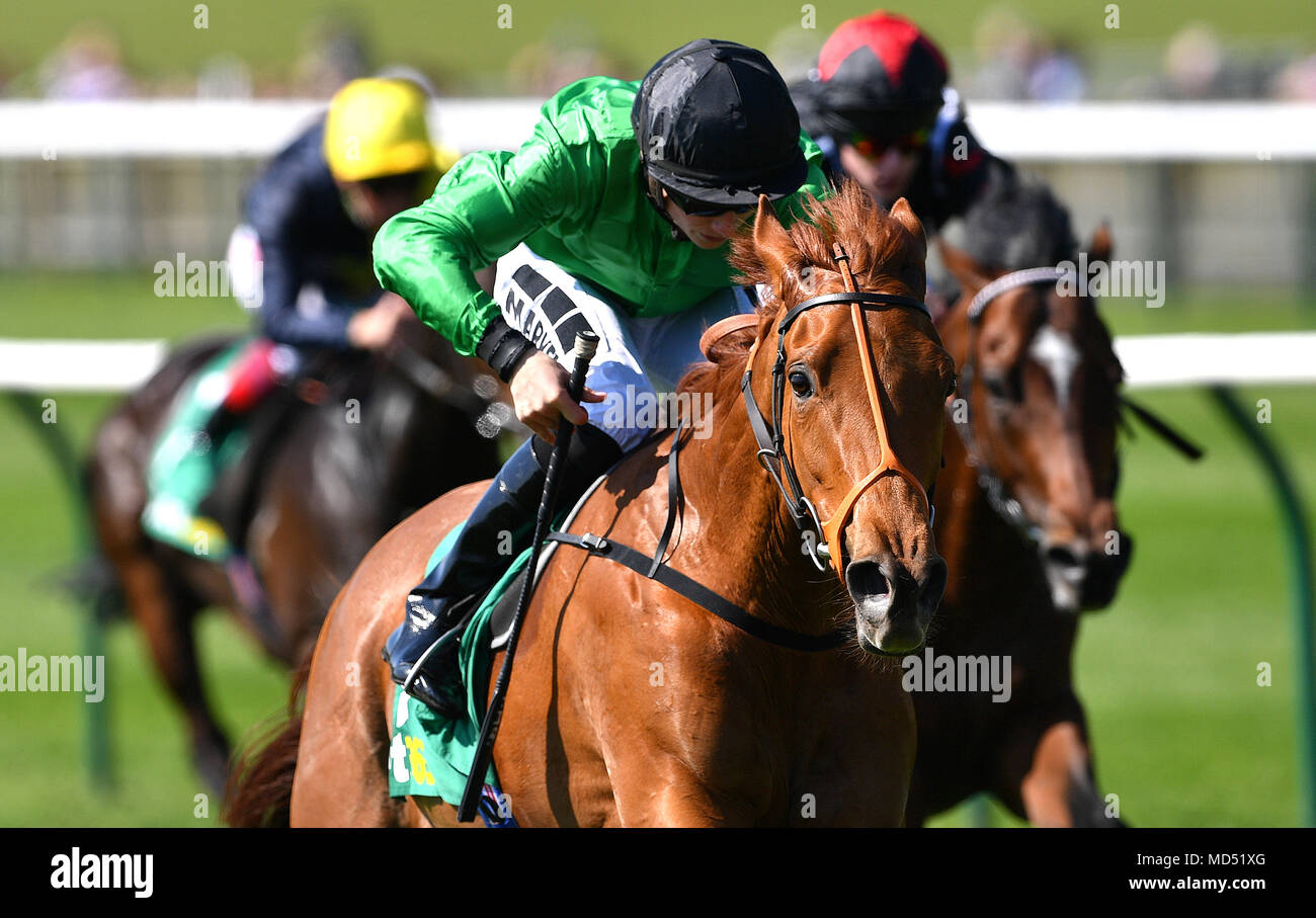 Anna Nerium ridden by Jockey Tom Marquand wins the bet365 European