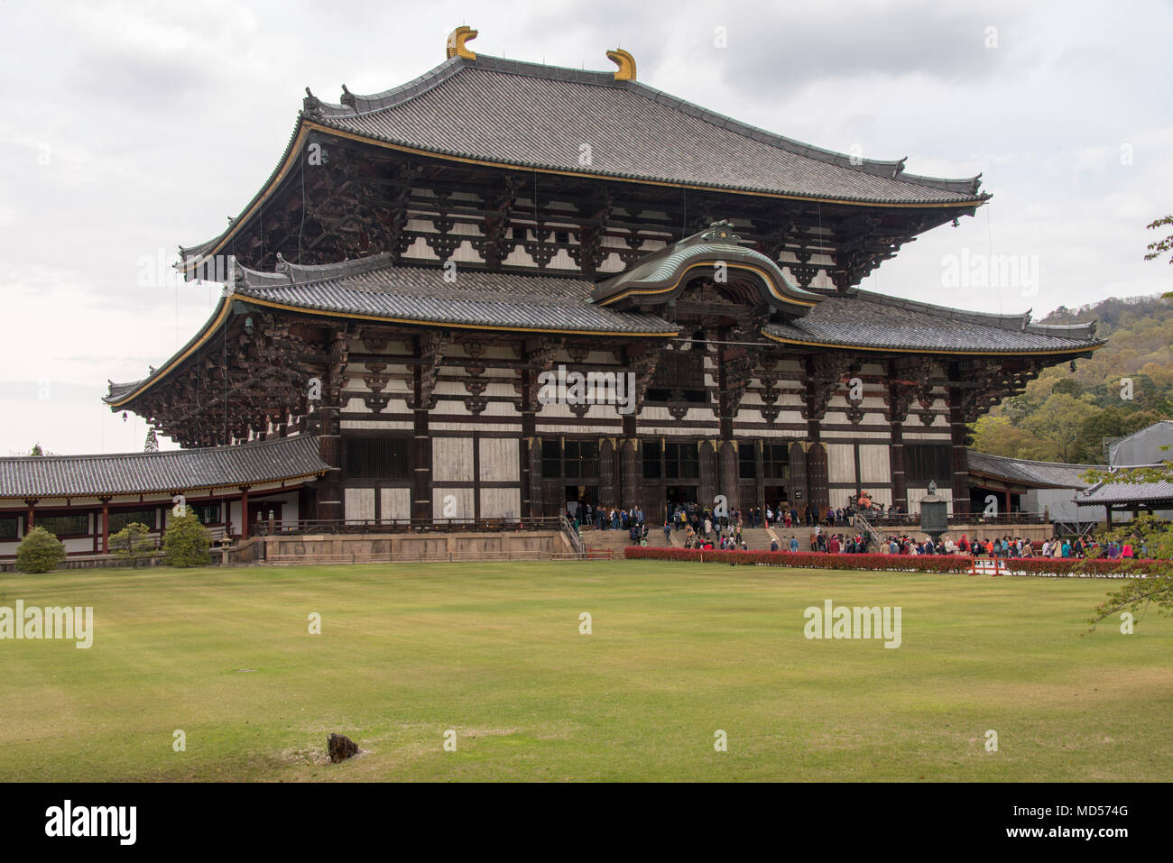 Shrine, Nara World Heritage Site, near Kyoto, Japan - Stock Image