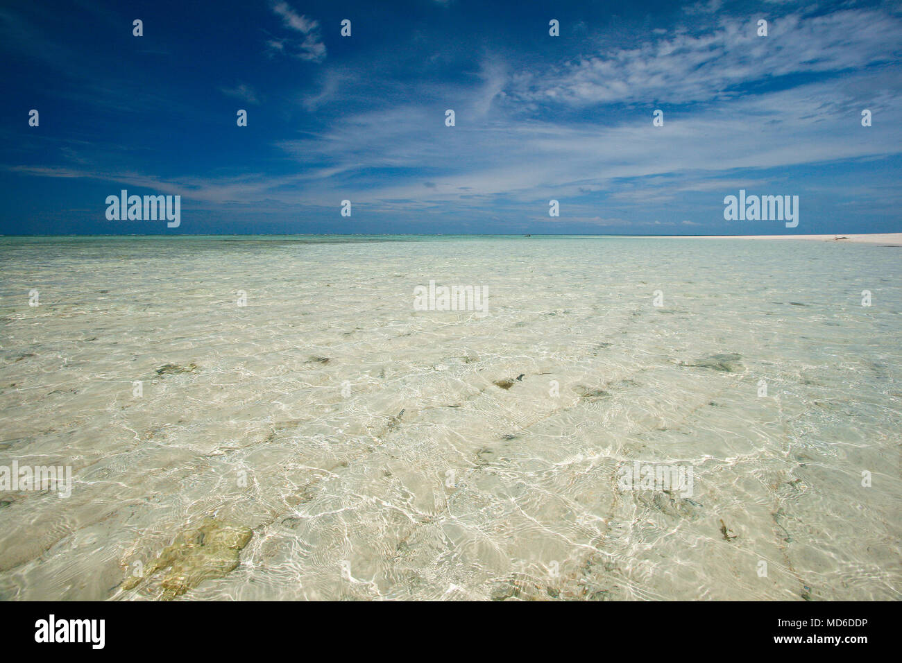 Island in Gorontalo. Sulawesi. Indonesia - Stock Image