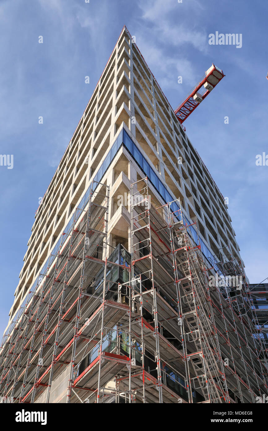 Hochhaus architektur stock photos hochhaus architektur - Skelettbau architektur ...