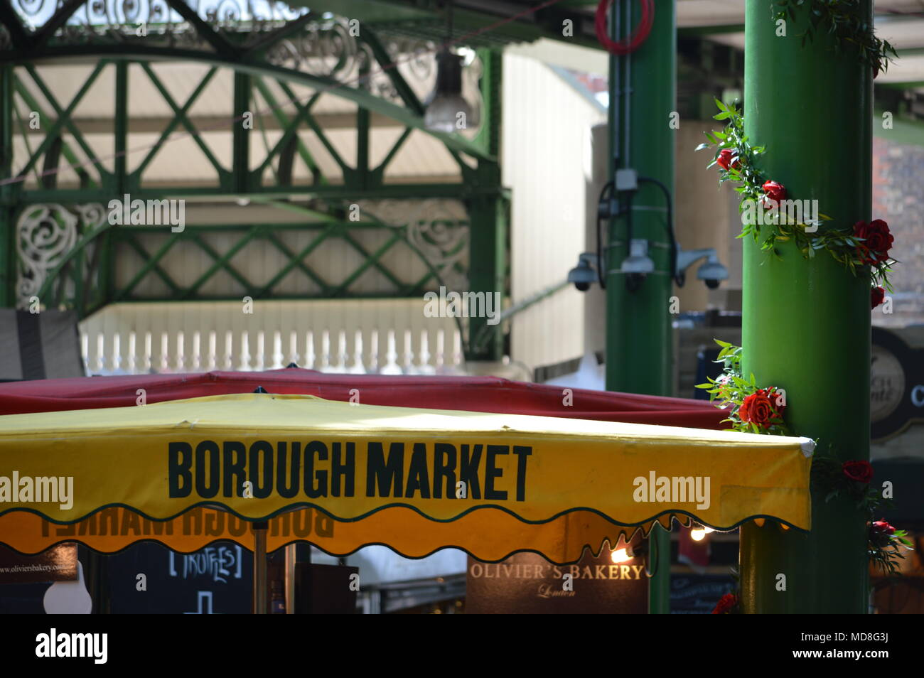 Borough Market, London - Stock Image