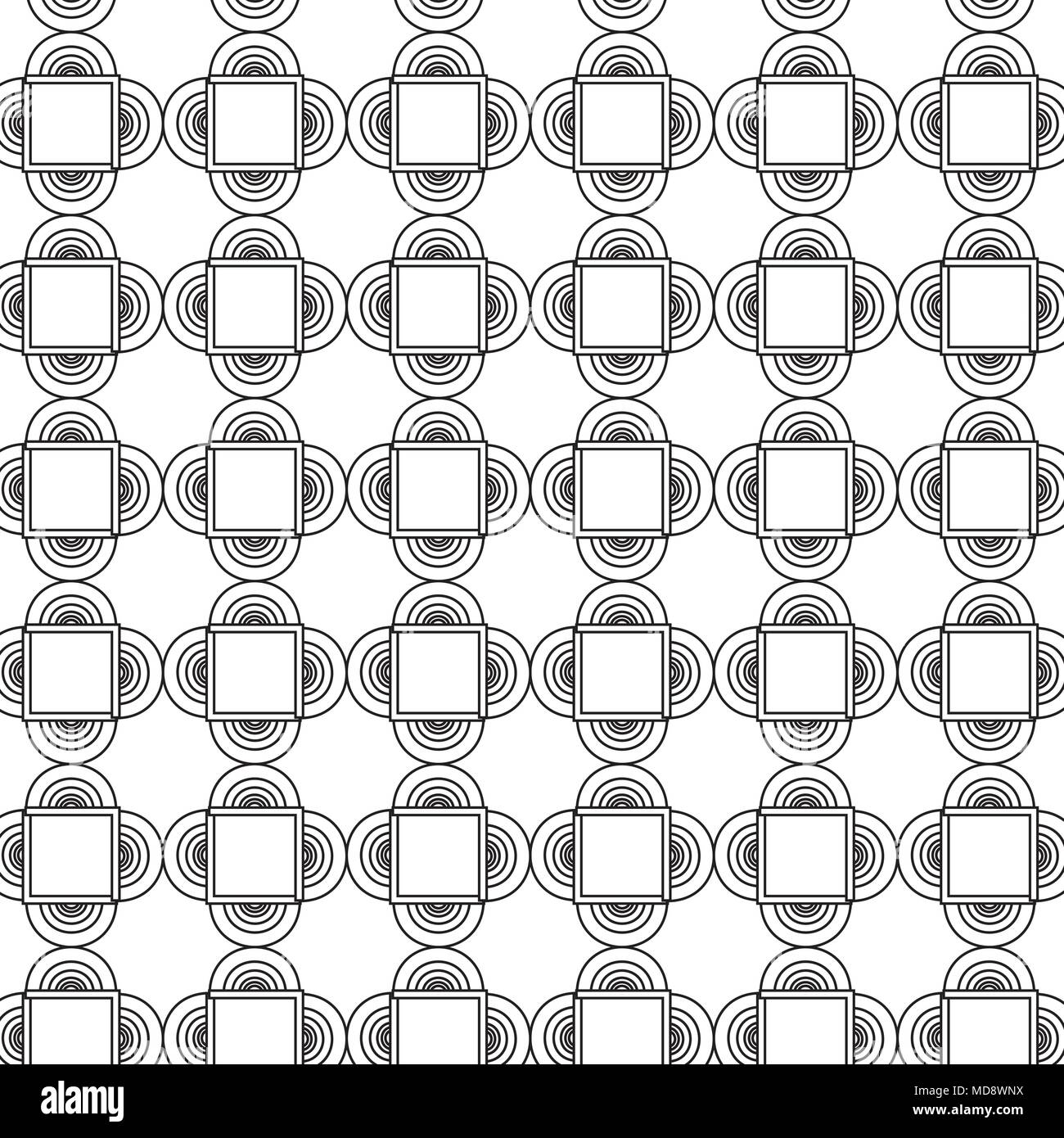 background of geometric shapes, black and white design. vector