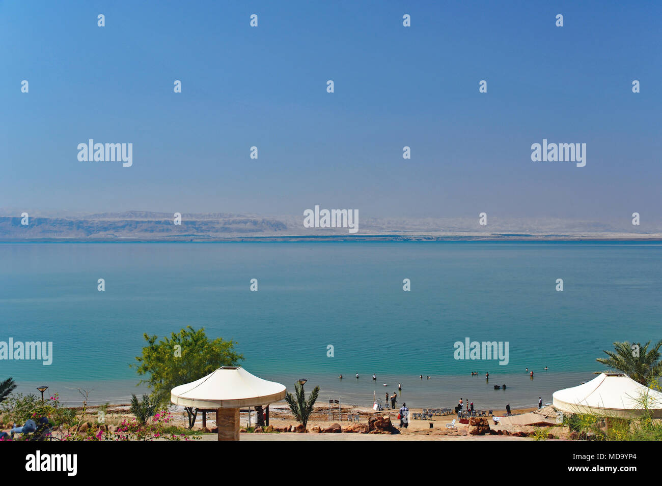 classic fit 32eac 5f157 View of the Dead Sea from Jordan with Israel across the water.