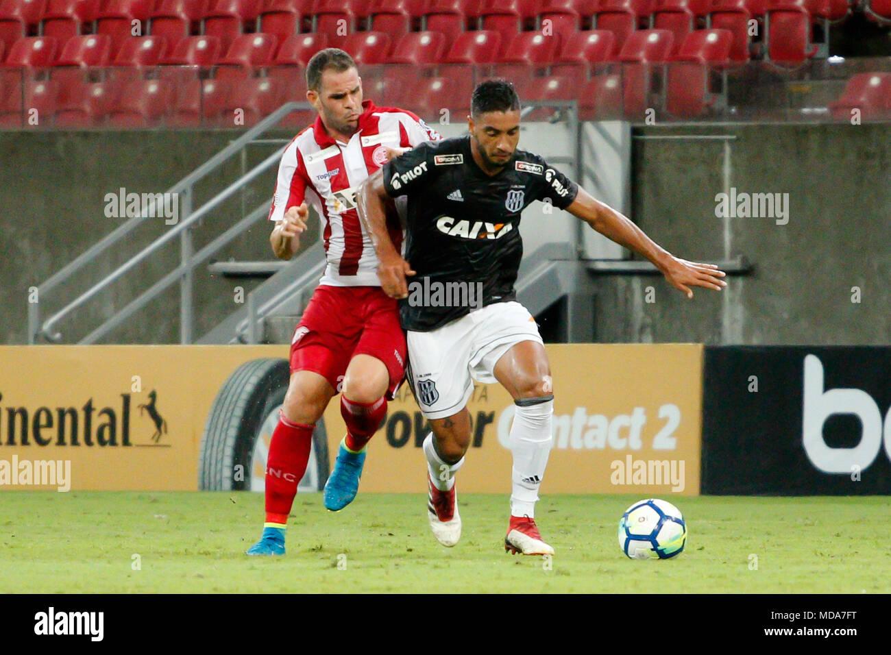 Sao Lourenco Da Mata Pe 18 04 2018 Nautico X Ponte Preta Wallace Pernambucano Player Of The