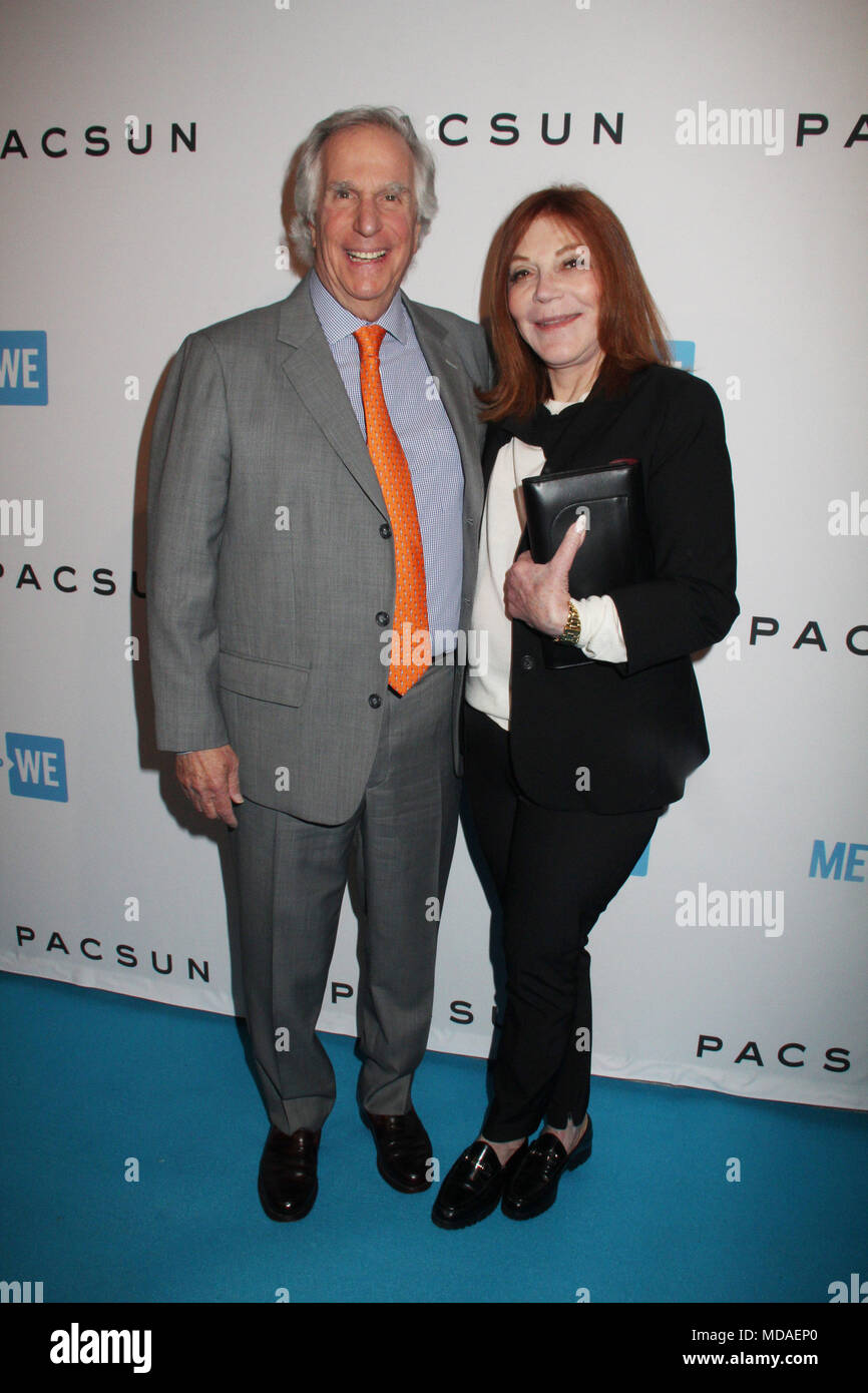 Henry Winkler, Stacey Weitzman 04/18/2018 The official pre