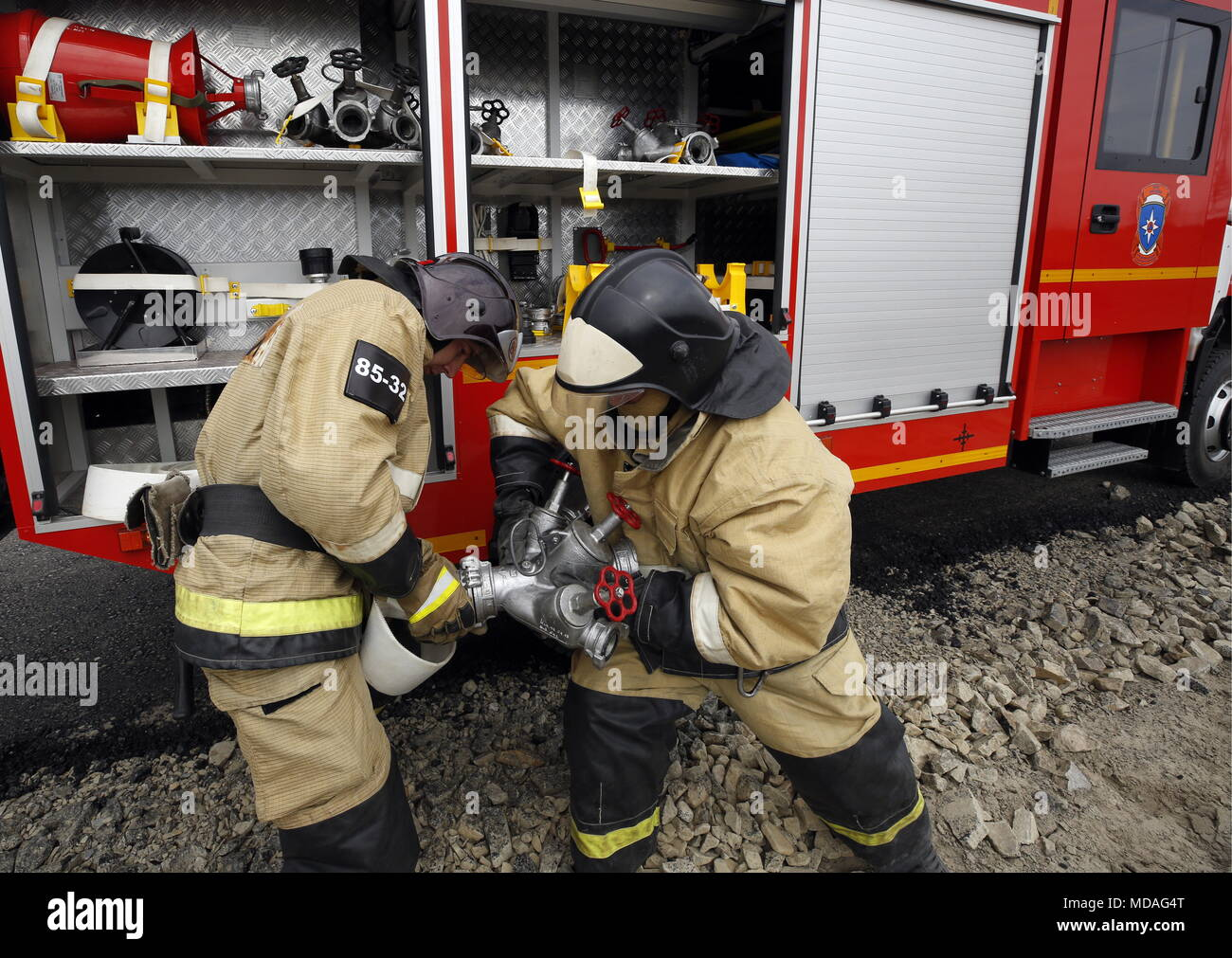 Rescuers in Rostov 97