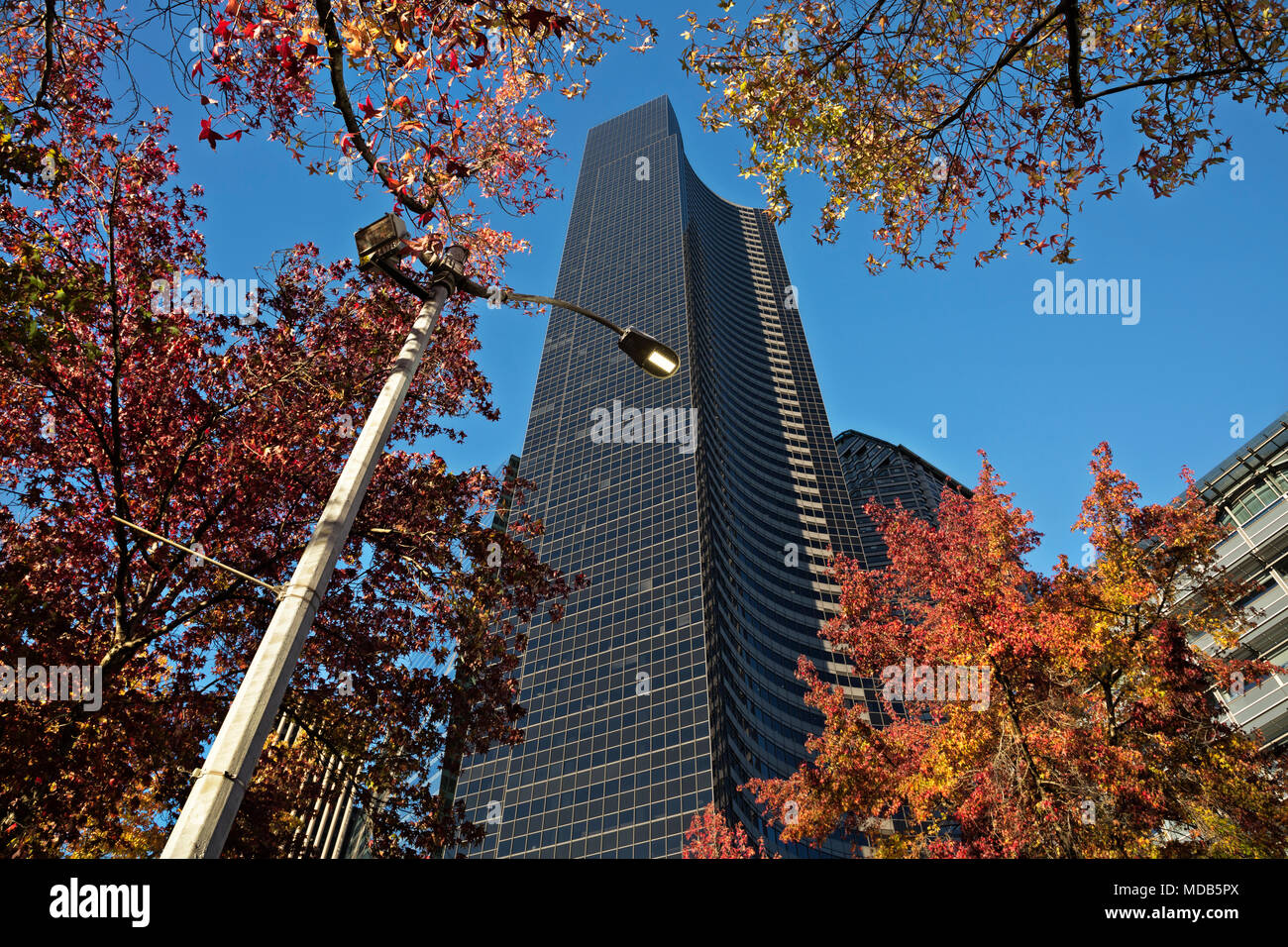 WA15288-00...WASHINGTON - Columbia Center, at 76 floors high, is the tallest building Seattle. - Stock Image