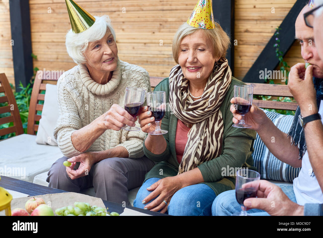 Happy Birthday Party - Stock Image