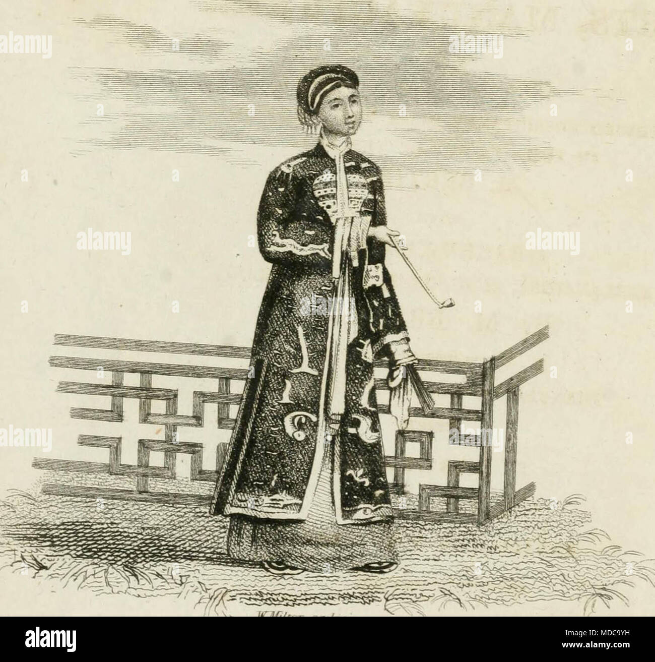 'China, its costume, arts, manufactures, &c. : edited principally from the originals in the cabinet of the late M. Bertin, with observations explanatory, historical, and literary' (1812) - Stock Image