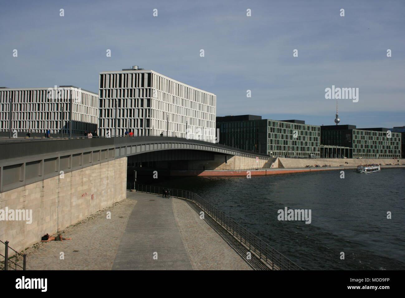 Impressionen der Hauptstadt - Berlin - Stock Image
