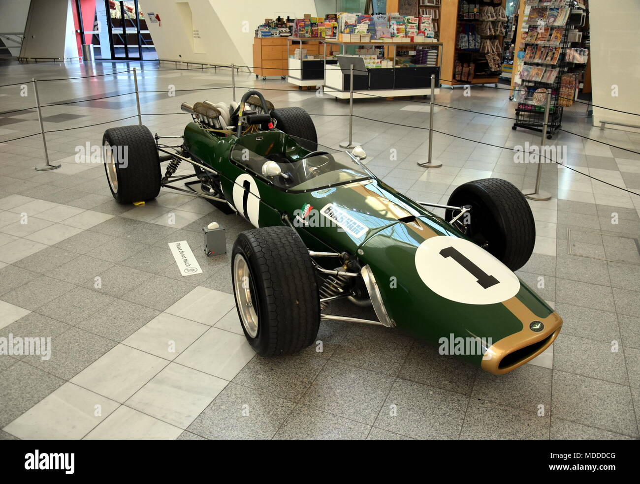Canberra, Australia - March 10, 2018  Racing legend Jack Brabham's