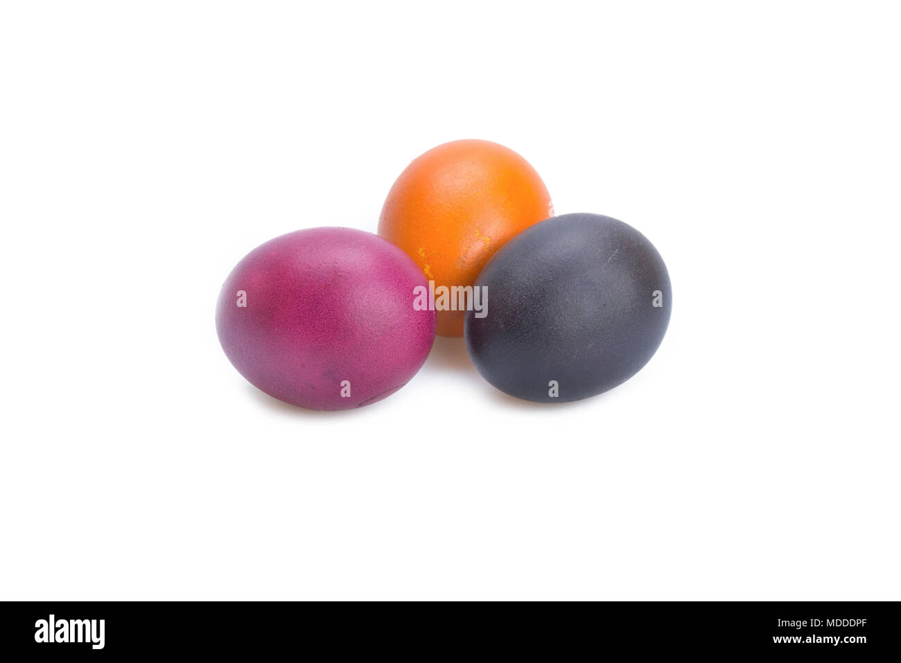 Multi color eggs, for easter holiday - Stock Image
