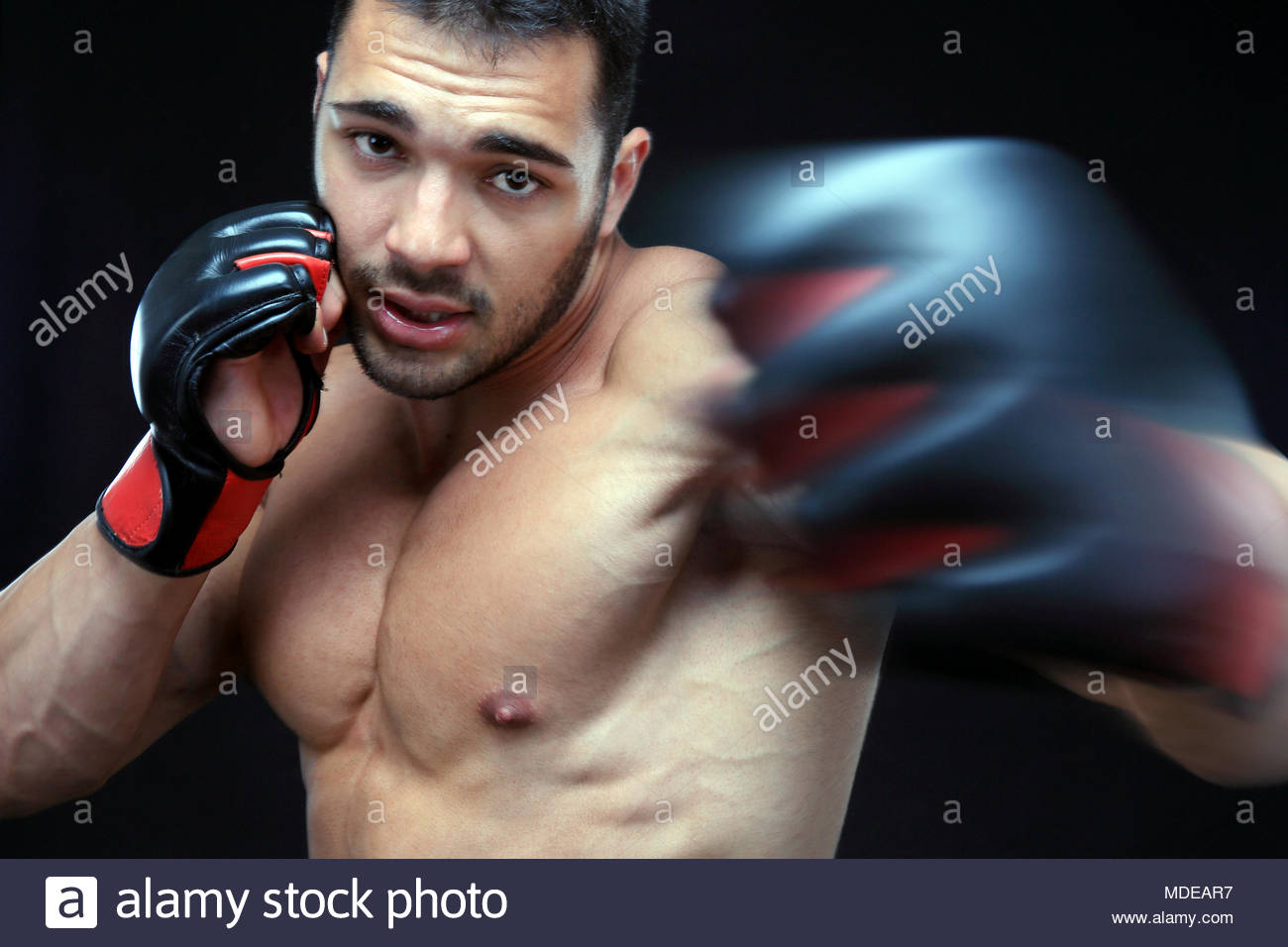 Mma Gloves Stock Photos Amp Mma Gloves Stock Images Alamy