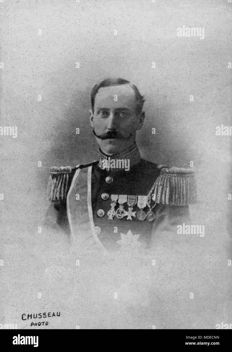 Portrait Of The King Norway Haakoon 7 1872