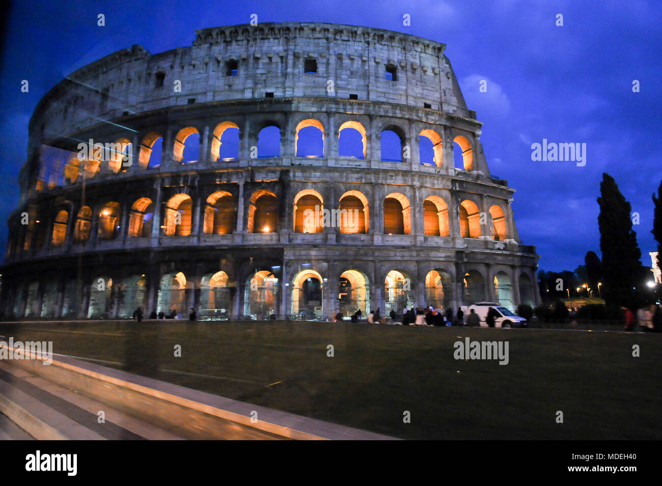 Colosseo (Colosseum) in Historic Centre of Rome listed World Heritage by UNESCO in Rome, Italy. May 1st 2011 © Wojciech Strozyk / Alamy Stock Photo Stock Photo
