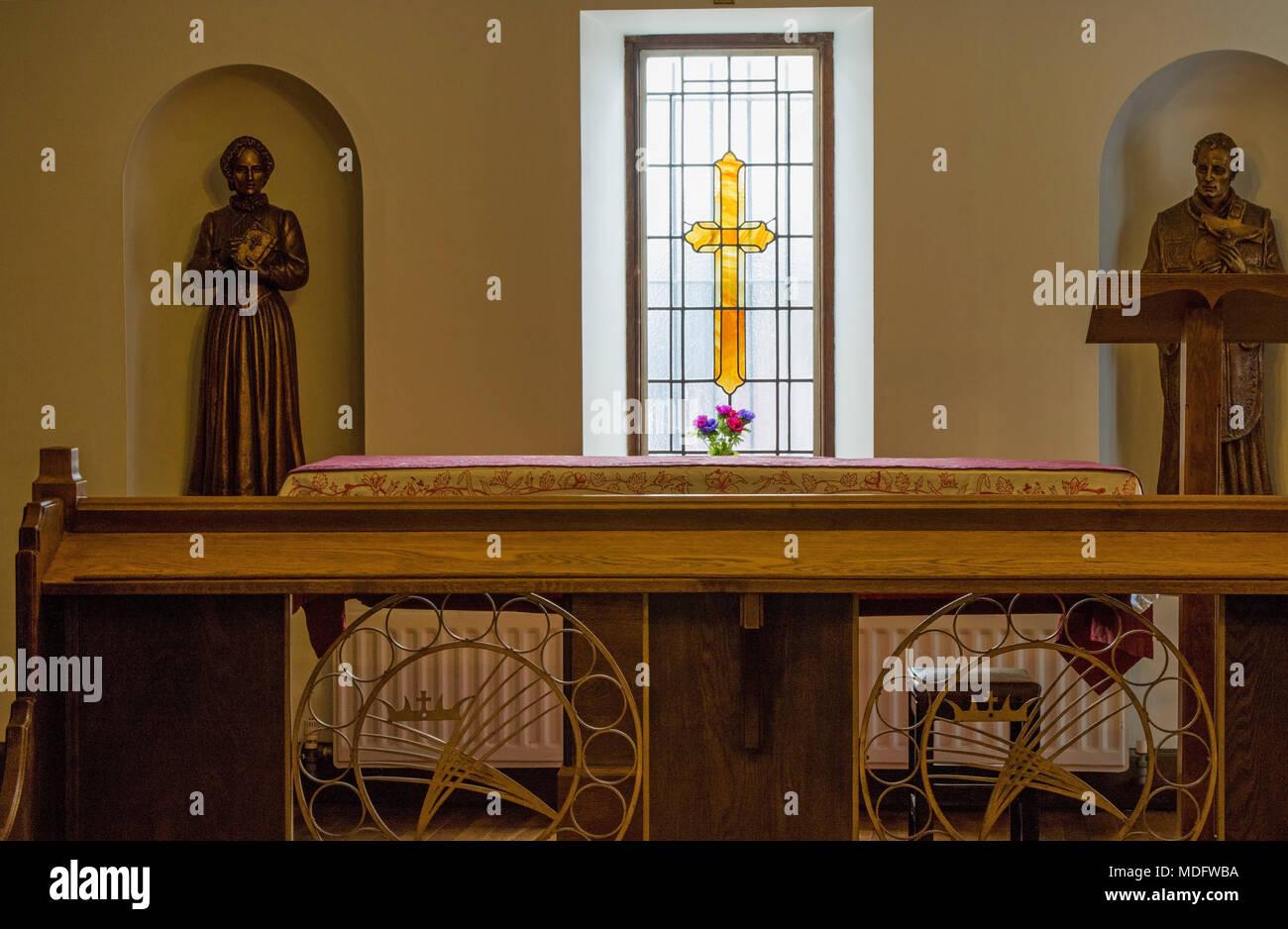 The Shrine of The Saint Margaret Clitherow,York,North Yorkshire,England,UK. - Stock Image