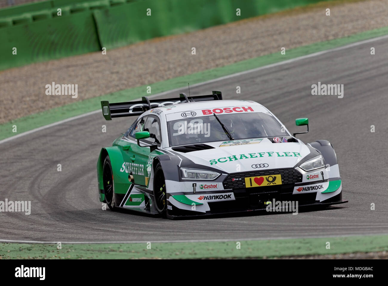 mike rockenfeller ger audi dtm 2018 tests hockenheim. Black Bedroom Furniture Sets. Home Design Ideas