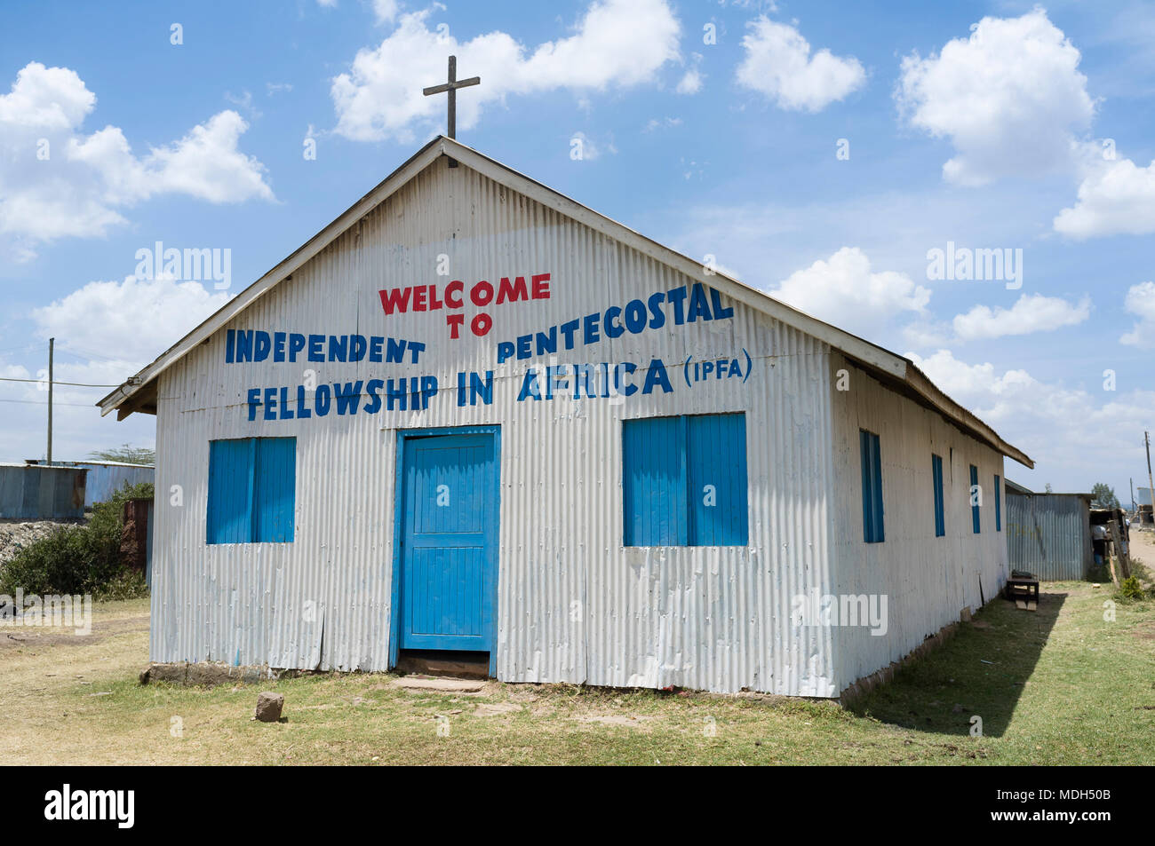 Independent Pentecostal Fellowship in Africa Church, Ngong Road, Nairobi, Kenya - Stock Image