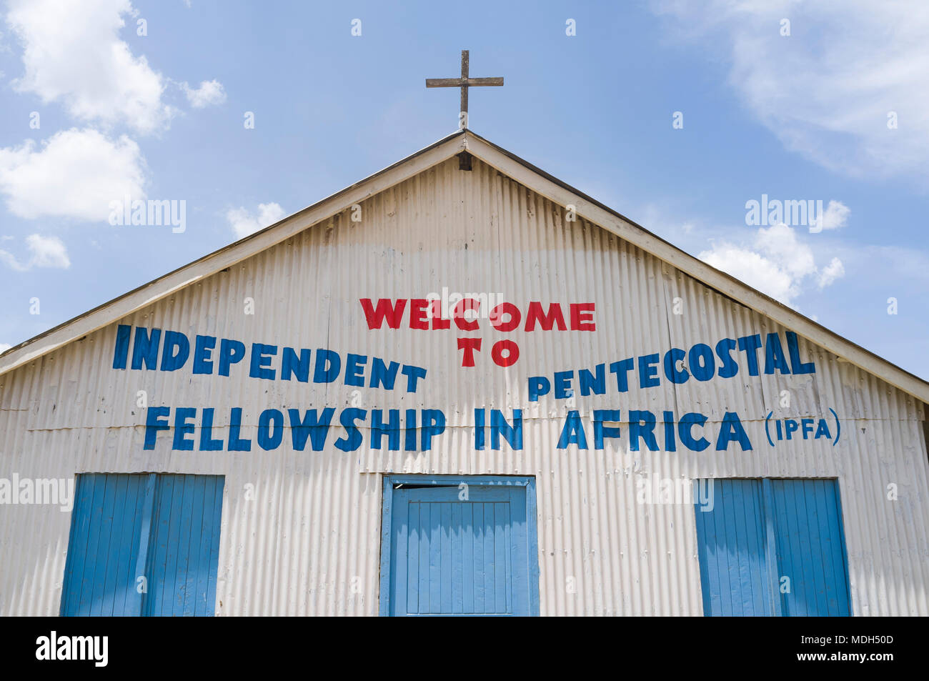 Independent Pentecostal Fellowship in Africa Church, Ngong Road, Nairobi, Kenya Stock Photo