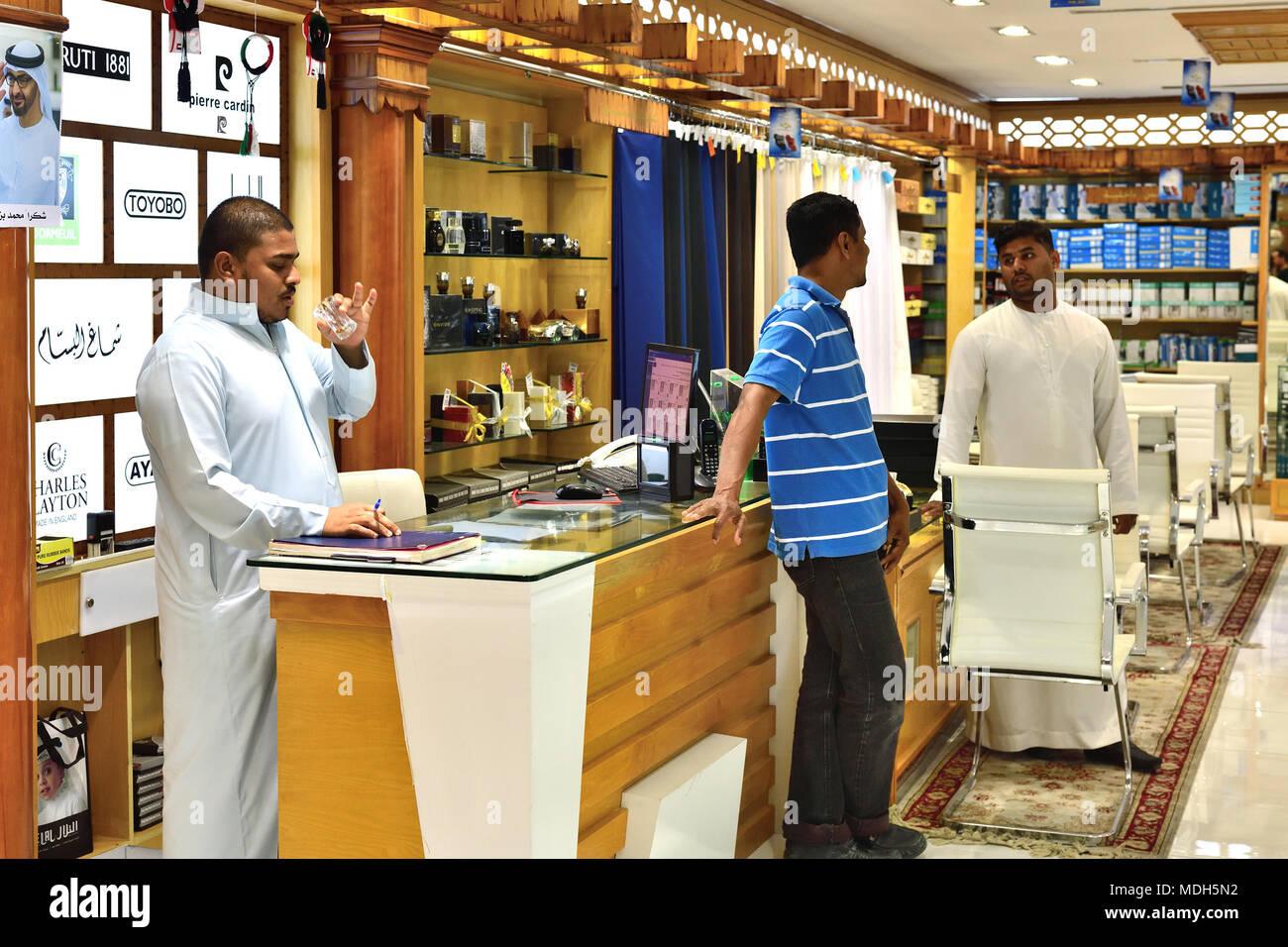 Islamic Clothing Shop Stock Photos & Islamic Clothing Shop
