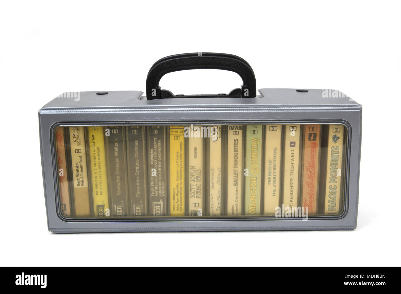 Cassette Carry Case - Stock Image