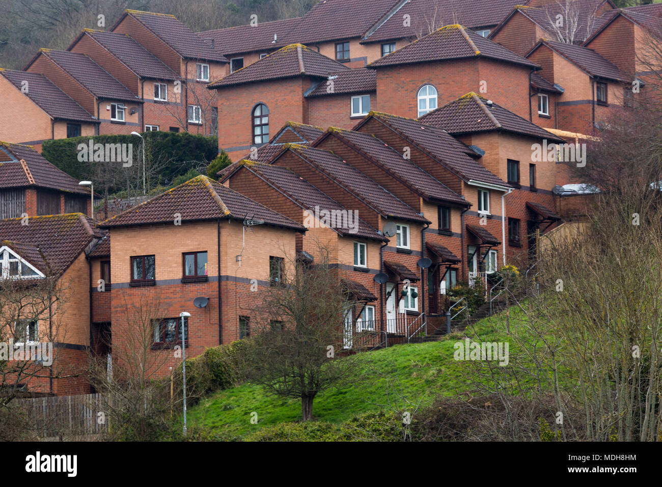 Red Brick Terraced Houses Stock Photos Amp Red Brick