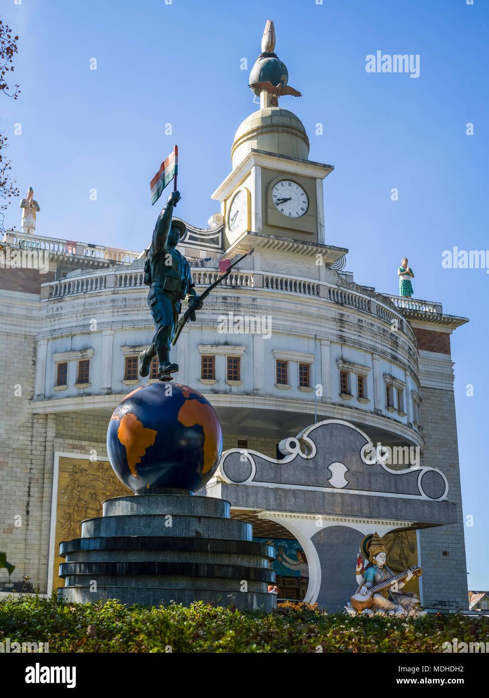 Bhanu Bhawan, Local Government Office; Darjeeling, West Bengal, India - Stock Image