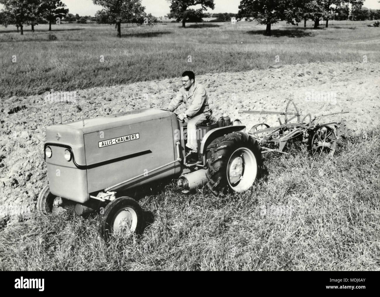 1966 AC 190 XT Farming t Tractors Allis chalmers