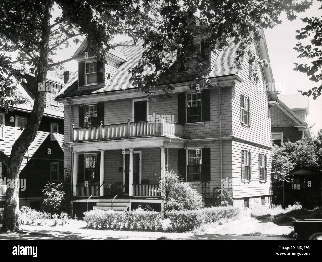 Kennedy House, Brookline, Mass, USA - Stock Image