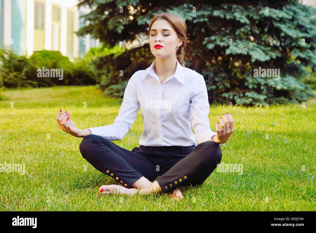 Lotus pose is a guarantee of health 8