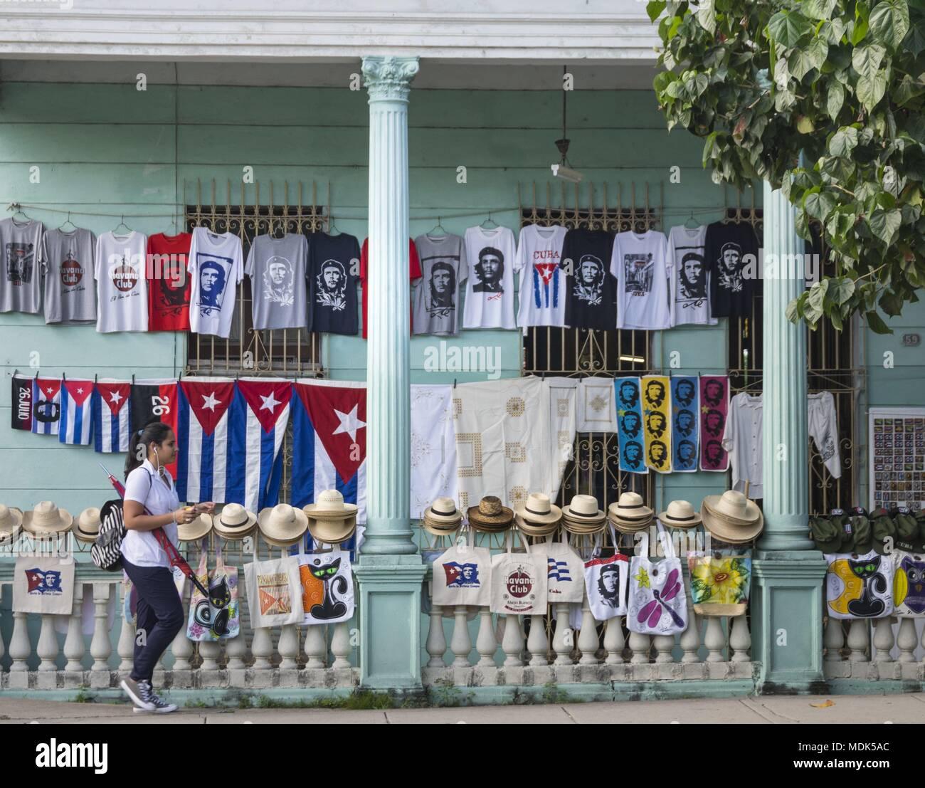 Santa Clara, Cuba. 28th Nov, 2017. Che Guevara is highly revered as a revolutionary leader throughout Cuba. (28 November 2017) | usage worldwide Credit: dpa/Alamy Live News - Stock Image