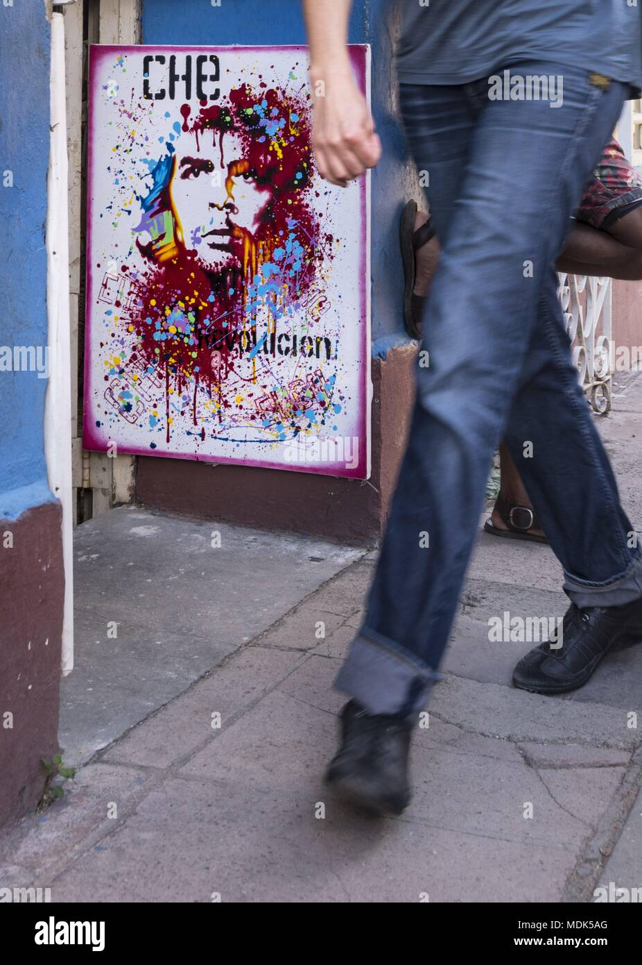 Trinidad, Cuba. 28th Nov, 2017. No one passes Che Guevara in Cuba. Everywhere in the country, the revolutionary leader is highly revered. (28 November 2017) | usage worldwide Credit: dpa/Alamy Live News - Stock Image