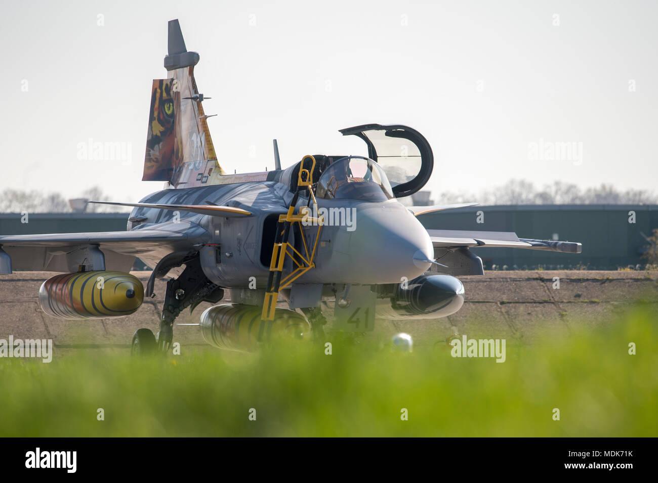 Caslav, Czech Republic  20th Apr, 2018  Five fighter