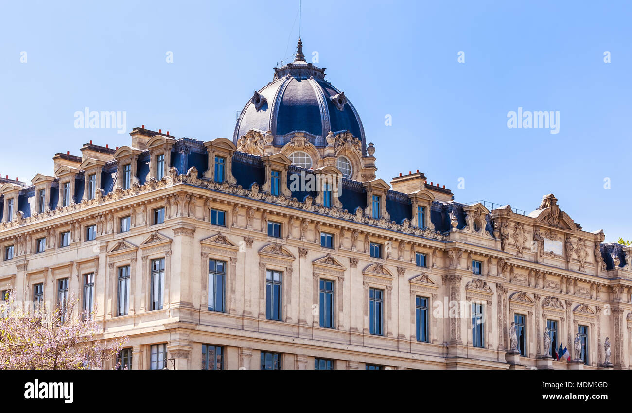 Registry of the Paris Commercial Court. Paris. France. - Stock Image