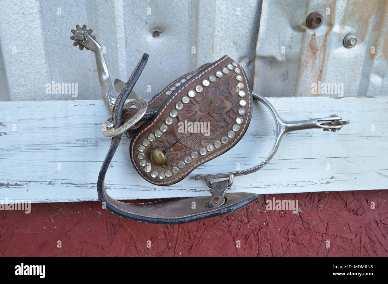 Cowgirl Spurs - Stock Image