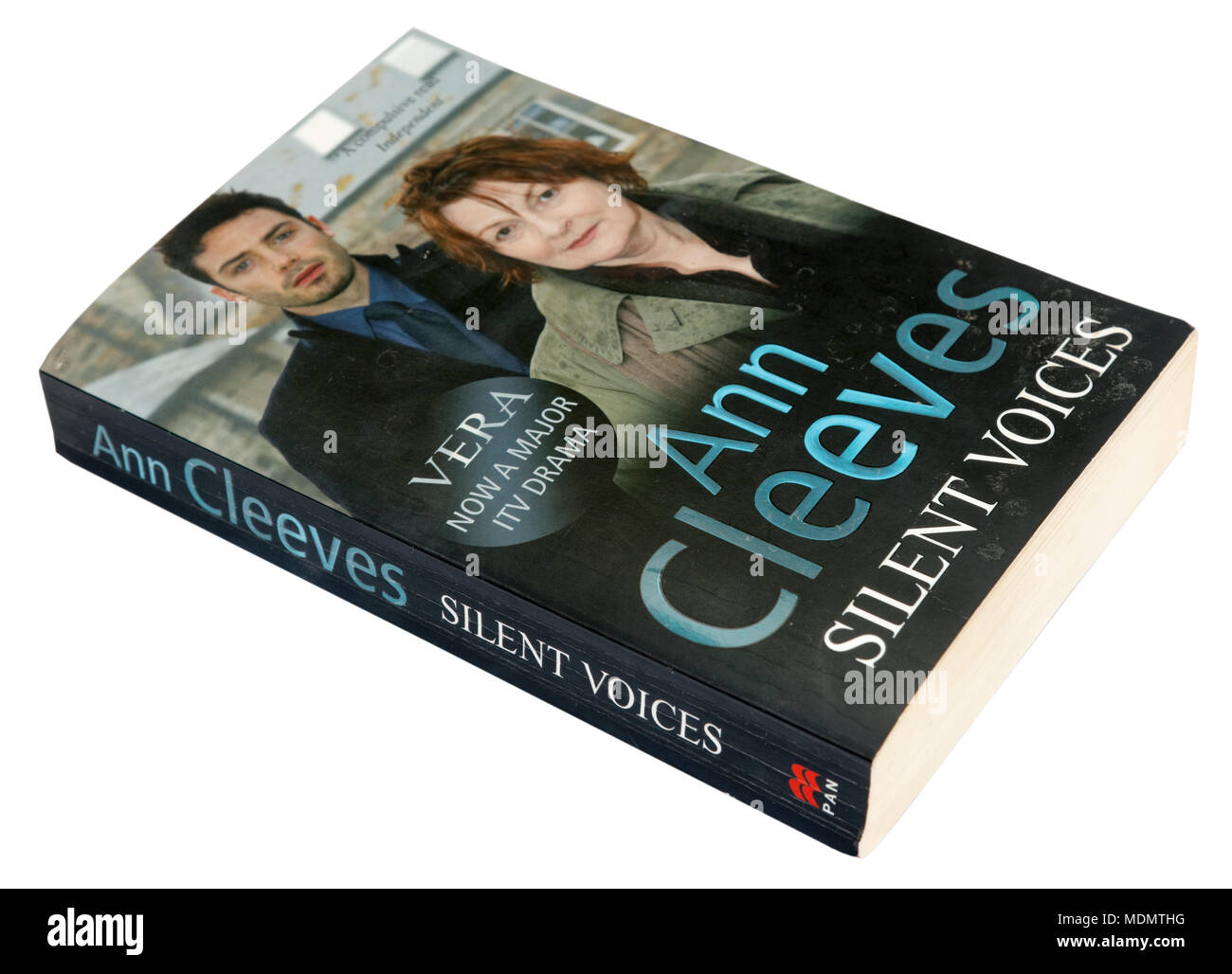 Silent Voices by Ann Cleeves - a Vera story - Stock Image
