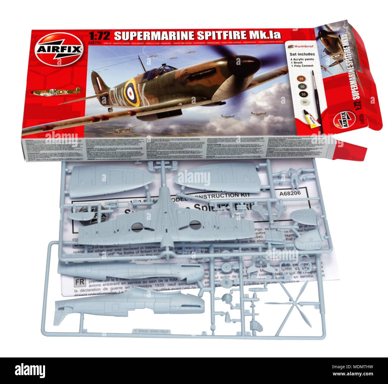 Model Aeroplane Kit Stock Photos & Model Aeroplane Kit Stock