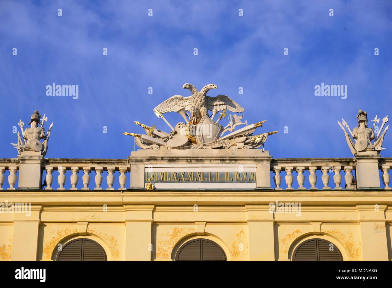 spot- Palace Schloss Schonbrunn - Stock Image