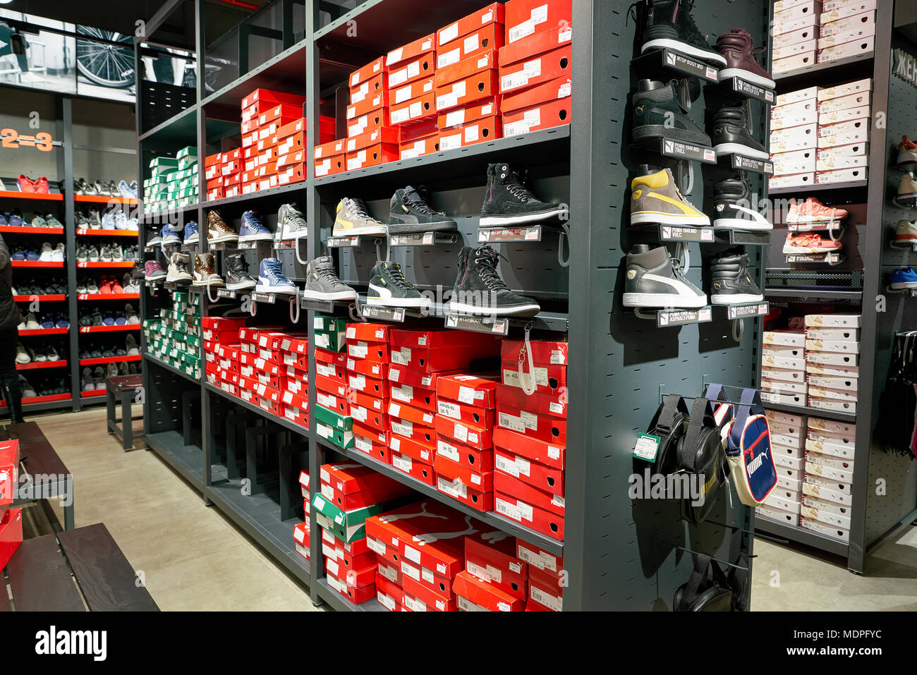 e0f5a45bfbfcd1 Puma Shoes Stock Photos   Puma Shoes Stock Images - Page 3 - Alamy