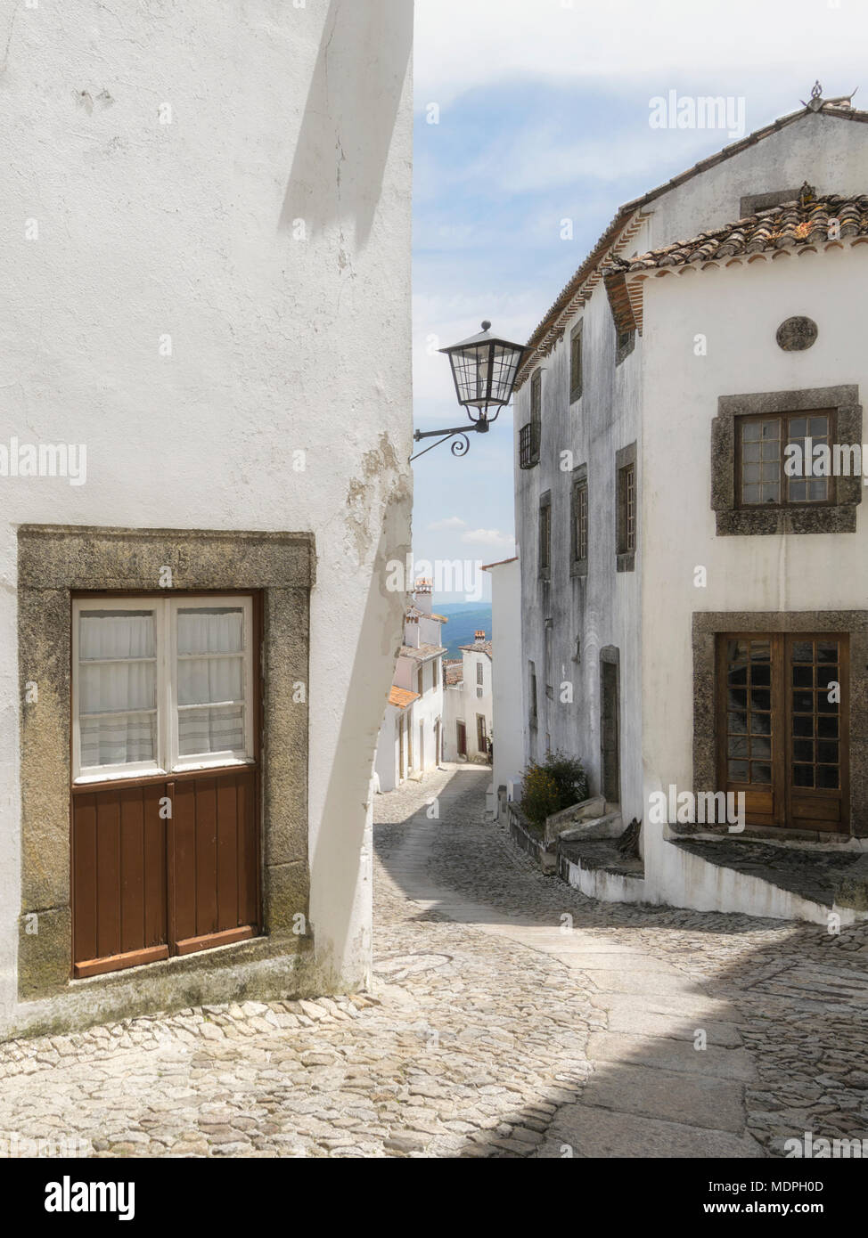 Labyrinths of old streets. - Stock Image