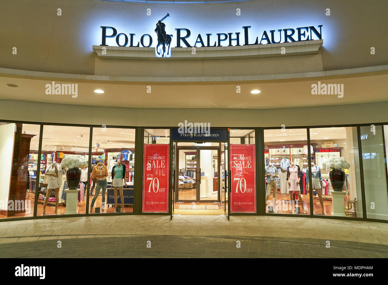 Korea Lauren BusanSouth Ralph At Store May 252017Polo Lotte 0kXZN8nOPw