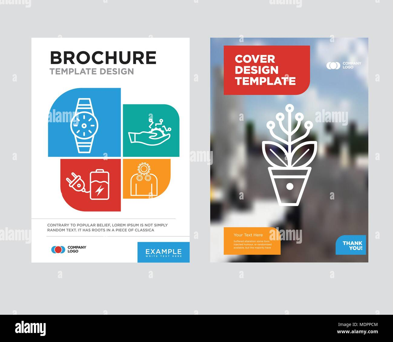 Settings Brochure Flyer Design Template With Abstract Photo Background Settings Development Battery Smartwatch Minimalist Trend Business Corporate Stock Vector Image Art Alamy