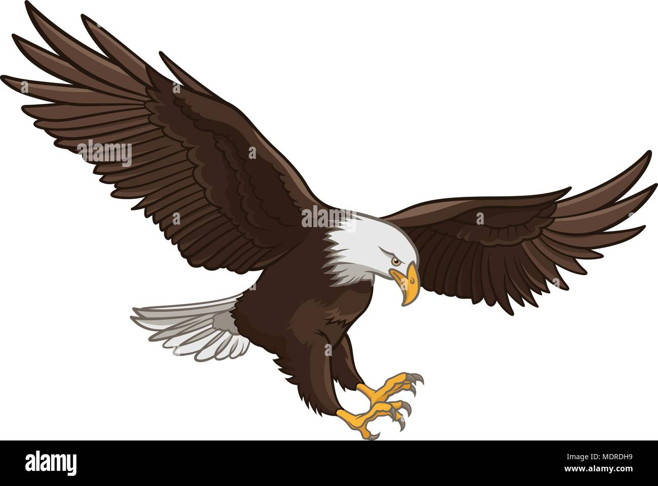 Wing Vector Vectors Stock Photos Images Bald Eagle Diagram Free Download Wiring Diagrams Pictures Isolated On White This Illustration Can Be Used As A Print