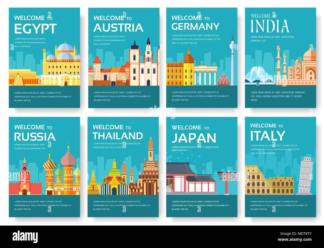 japan travel brochure template - Egypt Brochure Templates